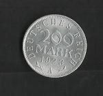 monedas del Mundo : Europa : Alemania :  Republica de Weimar / reverso