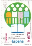 Stamps Spain -  VALORES CÍVICOS-Todos Compañeros Contra la Violéncia Escolar (P)