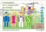 Sellos del Mundo : Europa : España :  VALORES CÍVICOS- Seguridad Laboral    (P)