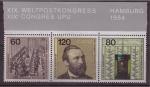 Sellos de Europa - Alemania -  XIX congreso postal