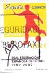 Sellos de Europa - España -  Real Federación Española de Futbol 1909-2009     (P)