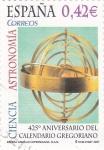 Stamps Spain -  425º Aniversario del Calendario Gregoriano      (P)