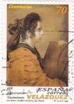 Stamps Spain -  Aniversario Nacimiento VELÁZQUEZ   (P)