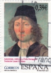 Sellos de Europa - España -  Autorretrato Atribuido a Pedro Berruguete  (P)