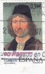 Stamps Spain -  Autorretrato Atribuido a Pedro Berruguete  (P)