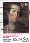 Stamps Spain -  (P)Autorretrarto .Mariano Salvador Maella