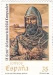 Sellos de Europa - España -  IX Centª de la muerte del Cid Campeador      (P)