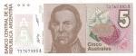monedas del Mundo : America : Argentina :  BILLETE DE ARGENTINA- Justo José de Urquiza