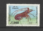 Sellos de Africa - Túnez -  langosta