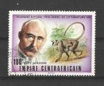 Stamps Africa - Central African Republic -  Kipling