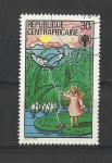 Stamps Africa - Central African Republic -  Año int. del niño