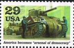 Sellos de America - Estados Unidos -  A WORLD AT WAR