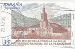 Sellos de Europa - España -  San Millán de la Cogolla (La Rioja) PATRIMONIO NACIONAL    (P)