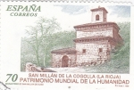 Stamps Spain -  San Millán de la Cogolla (La Rioja) PATRIMONIO NACIONAL    (P)
