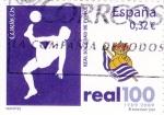 Stamps Spain -  CENTENARIO, Real Sociedad- 1909-2009     (P)