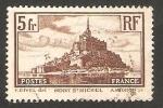 Sellos del Mundo : Europa : Francia :  260 - Monte Saint Michel