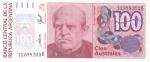 monedas de America - Argentina -  BILLETE DE ARGENTINA- Domindo F. Sarmiento