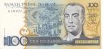 monedas del Mundo : America : Brasil :  BILLETE DE BRASIL- Juscelino Kubitschek