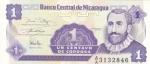 monedas del Mundo : America : Nicaragua :  BILLETE DE NICARAGUA- Francisco Hernández de Córdoba