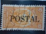 Stamps Ecuador -  Rep. del Ecuador-Timbre Fiscal-Postal-Moviles.