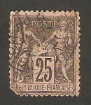 Sellos del Mundo : Europa : Francia : 97 - Sage