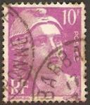 Stamps France -  811 - Marianne de Gandon