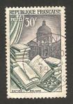Stamps France -  971 - Edicion y lectura  e instituo de Francia