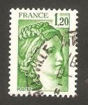 Stamps France -  2101 - Sabine de Gandon