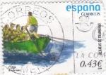Stamps Spain -  REGATAS DE TRAINERAS       (P)