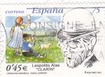 Sellos de Europa - España -  Literatura Española-Leopoldo Alas