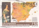 Sellos de Europa - España -  150 Aniversario Instituto Tecnológico Geominero de España          (P)