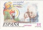 Stamps Spain -  (P)Año Internacional de las Personas Mayores