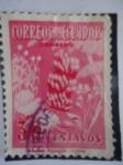 Stamps Ecuador -  Racimo de plátano o Banano.