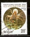 Stamps Republic of the Congo -  ARAÑA