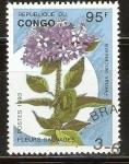 Stamps Republic of the Congo -  PENTAS  LANCEOLATAS