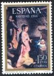 Sellos de Europa - España -  1897- Navidad 1968. El Nacimiento.