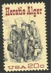 Sellos de America - Estados Unidos -  1439 - 150 Anivº del nacimiento de Horatio Alger