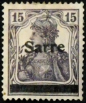 Stamps : Europe : Germany :  SARRE