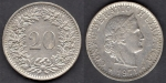 monedas del Mundo : Europa : Suiza :