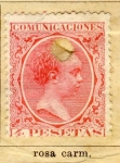 Sellos de Europa - España -  Alfonso XIII Ed 1889