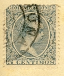 Stamps Spain -  Alfonso XIII Ed 1889
