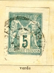 Stamps France -  Republica Ed 1882
