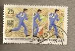 Stamps Germany -  Campeonato mundial larga distancia