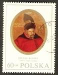 Stamps : Europe : Poland :  1868 - Stefan Batory, Príncipe de Transilvania, Rey de Polonia