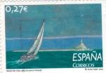 Stamps Spain -  Trazo de Tiza        (P)