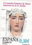 Stamps Spain -  Coronación Canónica de María Santísima de la O. Sevilla      (P)