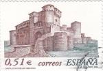 Stamps Spain -  Castillo de Cuellar (Segovia)     (P)