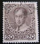Stamps Austria -  Fernando I
