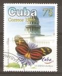 Stamps Cuba -  EUEIDES  CLEOBAEA