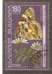 Stamps Bulgaria -  VANESSA  CARDUI